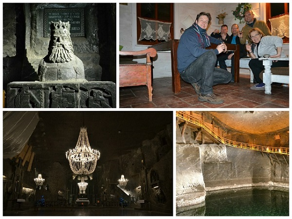 Visit a salt mine in Poland