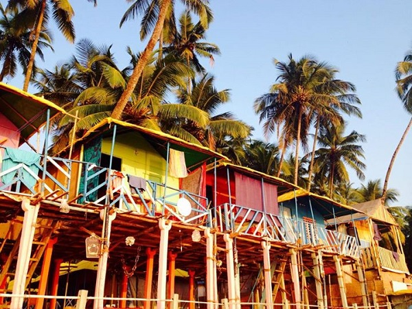 Palolem resort in Goa India