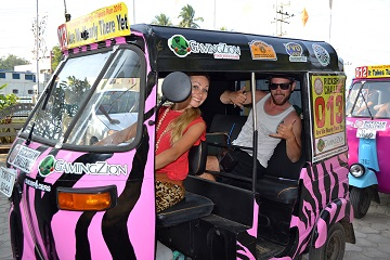 Rickshaw Challenge Classic Run Chennai to Trivandrum crazy adventure tuk tuk race in India