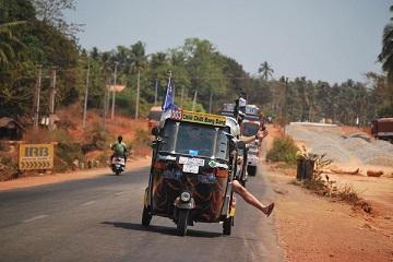 Rickshaw Challenge Tamilnadu Run Chennai Tamil Nadu crazy adventure tuk tuk race in India road trip fun