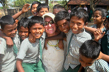 Rickshaw Challenge Deccan Odyssey tuk tuk race in India charity rally donations to orphanage and school
