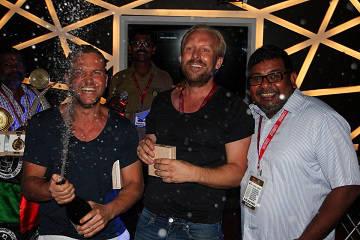 Rickshaw Challenge Malabar Rampage tuk tuk race in India victory ceremony