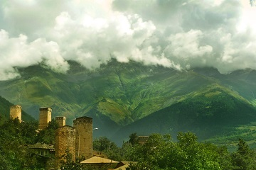 Georgia Svaneti Ushguli swan towers