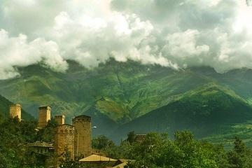 Georgia Svaneti Ushguli swan towers