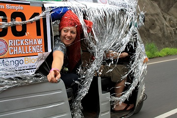 Rickshaw Challenge Mumbai XPress Goa to Chennai crazy adventure tuk tuk race in India Christmas spirit