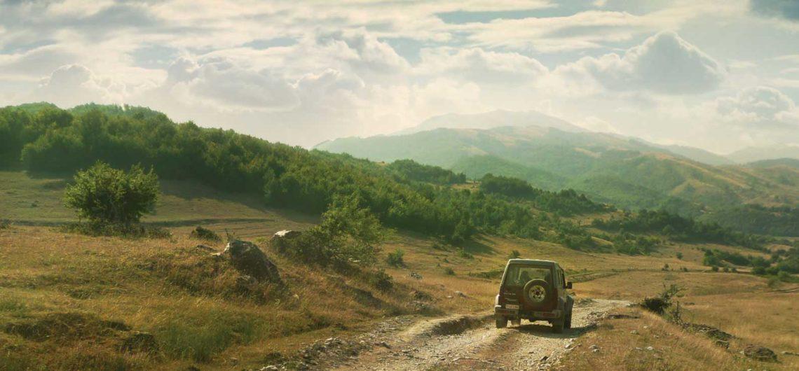 Caucasus off road trip adventure