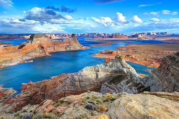 Travel Scientists Wild West Challenge Lake Powell Utah