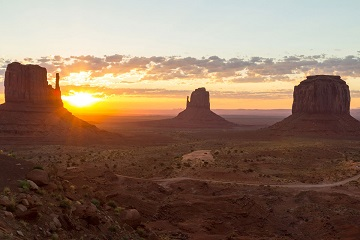 Wild West Challenge road trip Navajo Reservation Arizona Monument Valley Mitten Buttes