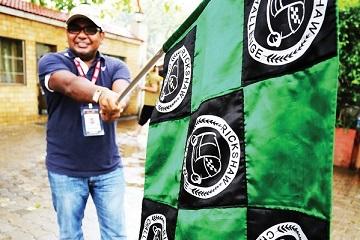 Rickshaw Challenge Mumbai XPress Goa to Chennai crazy adventure tuk tuk race in India start