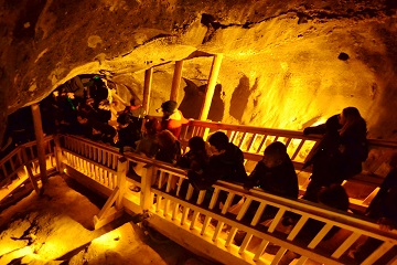 Salt mine Museum Poland underground pub Baltic Run