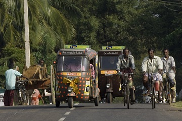 Chennai Tamil Nadu tuk tuk tourists