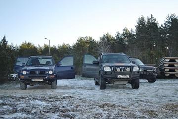 Off-road winter tour Baltic Run snow adventure