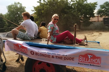 Bullathon, a holiday adventure by Travel Scientists in the real rural India. Explore Tamil Nadu on an ox cart. Sit back and enjoy