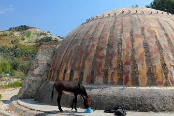 The Travel Scientists' Great Balkan Ride takes you around the Balkans. Albania's paranoid communist dictator Ever Hoxha had over 700,000 reinforced concrete bunkers built throughout the country.