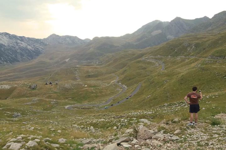 The Travel Scientists' Great Balkan Ride takes you around the Balkans. Second day: the Durmitor Range, Montenegro.