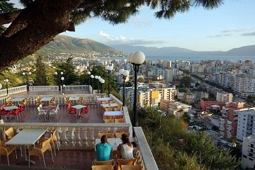 Albania Balkan Ride Mediterranean beach town