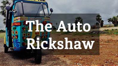 Rickshaw Challenge auto rickshaw