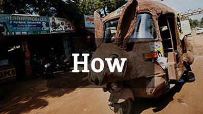 Rickshaw Challenge how