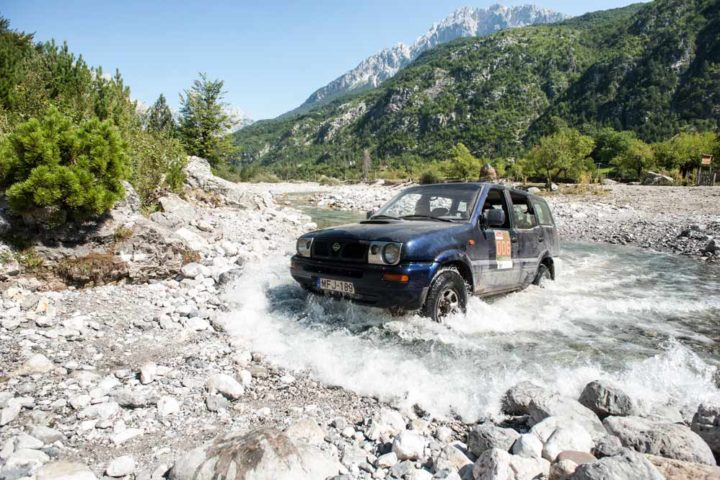 The Travel Scientists' Great Balkan Ride takes you around the Balkans. Enjoy some dirt road driving in Albania's wild nature.