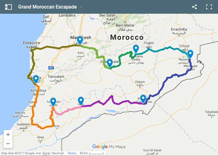 Grand Moroccan Escapade