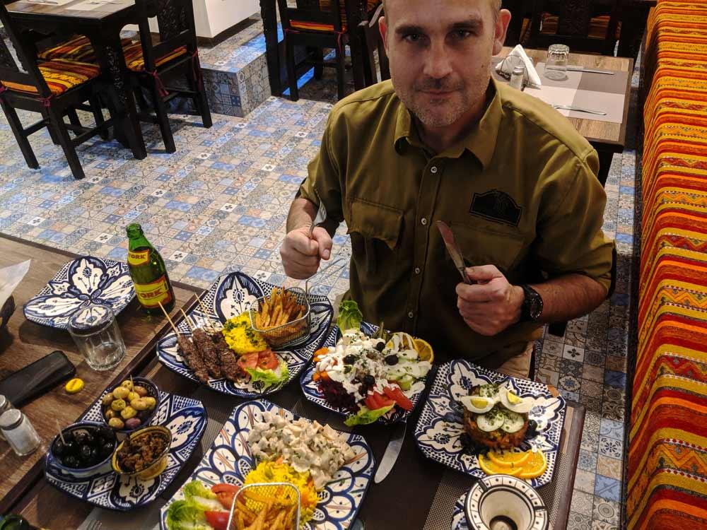 Moroccan food Moroccan Escapade