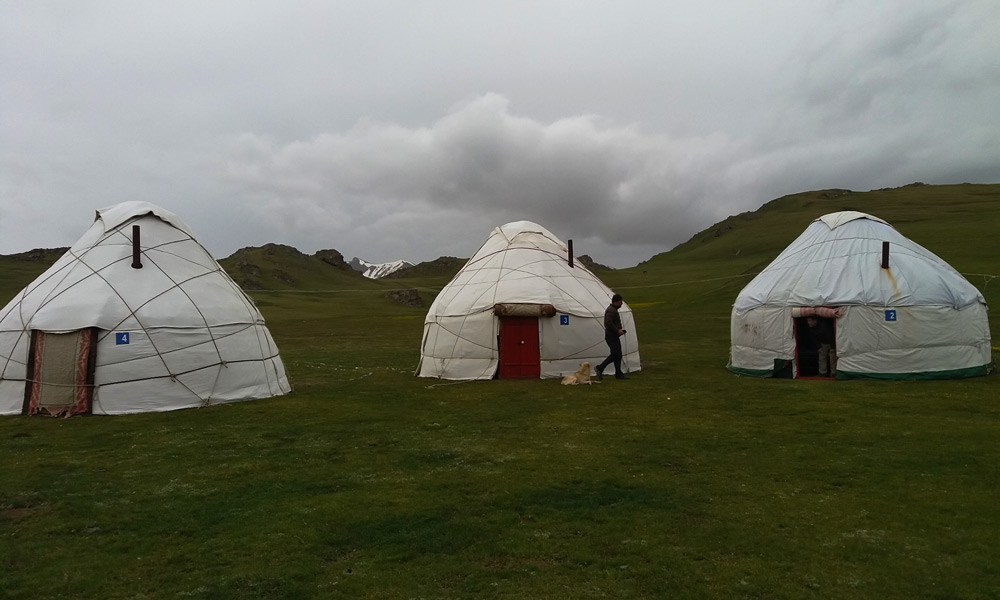 Accommodation Central Asia Rally Yurt